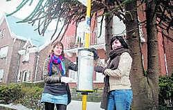 Hanne en Tina zijn het idee van latere bussen heel genegen.shb