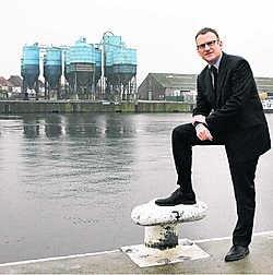Daan Schalck, directeur-generaal van het Gentse Havenbedrijf: 'De cijfers van het voorbije jaar waren inderdaad niet goed, maar structureel is de Gentse haven nog altijd gezond.'gia
