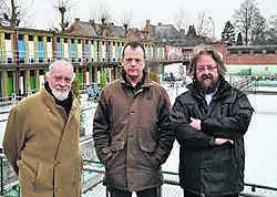 Laurens Stubbe, Geert Vangheluwe en Bart Vermeulen.Piet Lesage