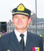 Carl Gillis, de nieuwe kapitein van de Louise Marie.
