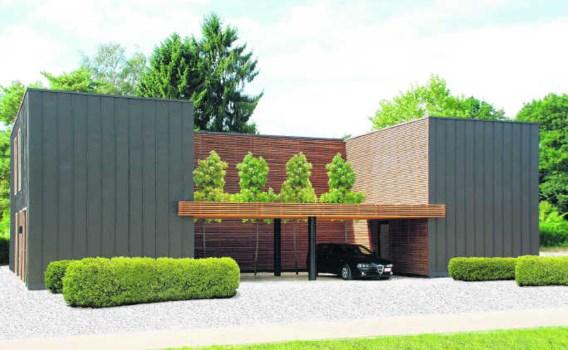 Deze villa is gebouwd volgens de principes van de houtskeletbouw. Voordeel van werken met hout, is dat het geen warmte opslaat, zodat je in huis snel de gewenste temperatuur krijgt. kijkwoning oscar v