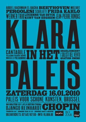 Klara-Muziekprijzen 2009 uitgereikt