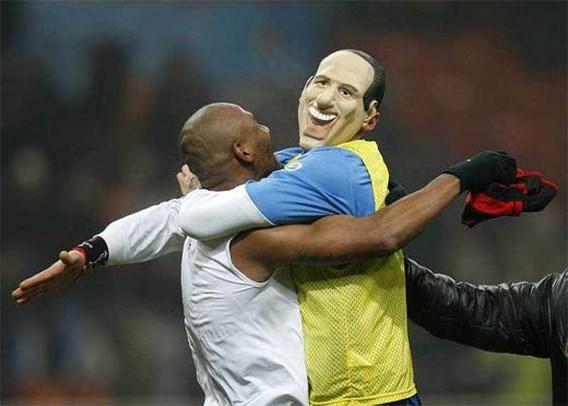 Materazzi viert als Berlusconi en riskeert schorsing