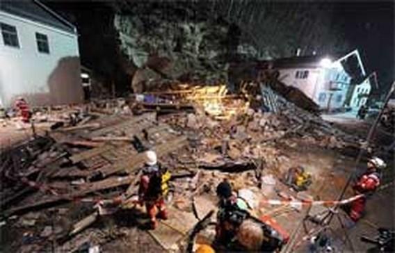 Rotsblok verplettert Beiers huis