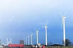 Eerder leverde Electrawinds ook al deze turbines in Brugge. pn