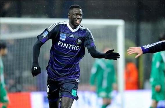 Cheikhou Kouyaté tot 2014 bij Anderlecht