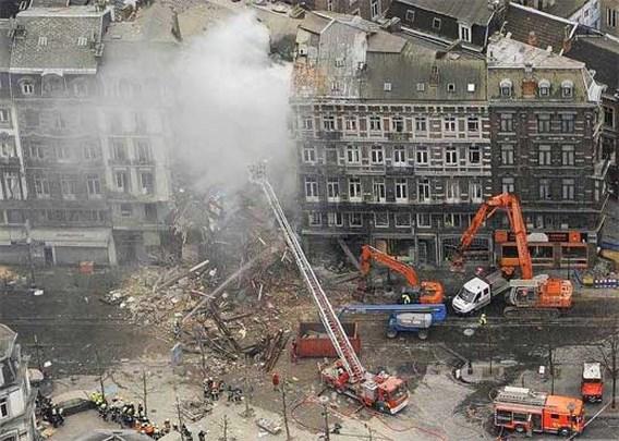 Al negen doden onder puin gehaald in Luik