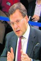 Lord Peter Goldsmith, voormalig adviseur van Tony Blair. rtr
