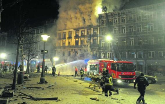 Rond twee uur dinsdagnacht was er een ontploffing in het flatgebouw aan de Rue Léopold, nummer 18.photo news