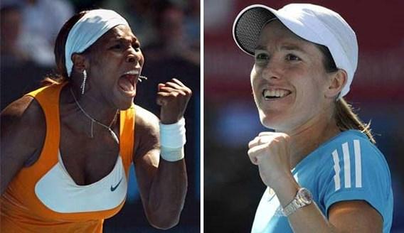 Bookmakers: Serena Williams licht favoriet in thriller tegen Henin