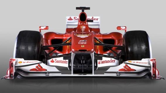 IN BEELD XL. De nieuwe Ferrari F10