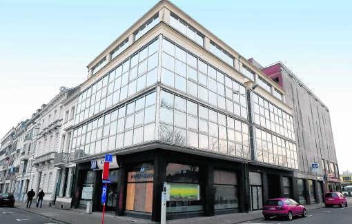 Op de hoek Casinoplein-Conservatoriumplein moet het wellnesscenter van het hotel komen. Patrick Holderbeke