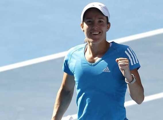 Justine Henin stoomt naar finale