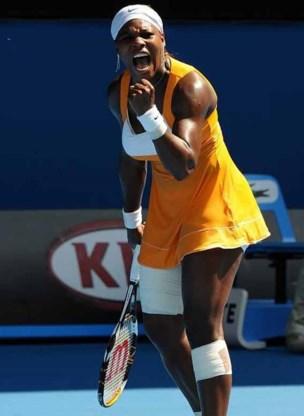Serena Williams als eerste naar finale