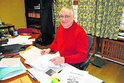 Jan Breyne begon bij de stad Ieper in de jaren 70. Piet Lesage