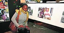 Ninja Meeuws (25), geboren in Haïti en geadopteerd doorGierlenaars, kreeg een heleboel steun voor haar geboorteland vanuit het dorp. lvh