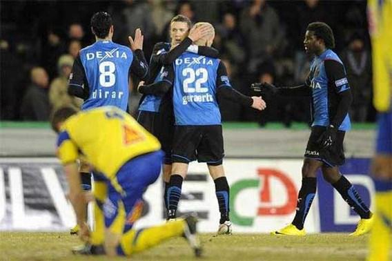 Club Brugge op de valreep voorbij Westerlo