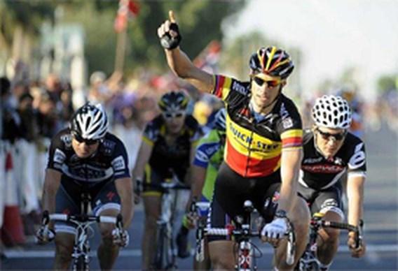 Tom Boonen wint derde rit in Qatar