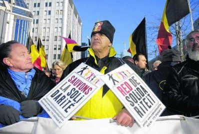 Solidariteit in België lijkt steeds meer op liefdadigheid. belga