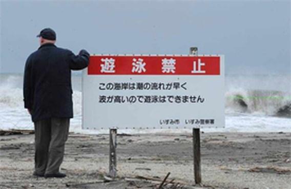 Gevreesde tsunami is uitgebleven