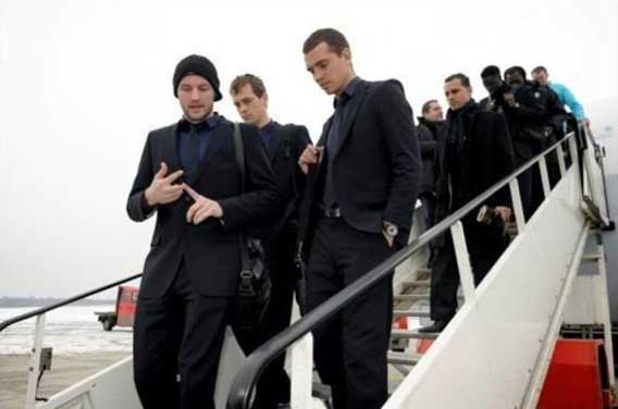 FOTO: Anderlecht vliegt naar Hamburg