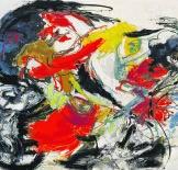 'Tragisch hoofd' van Karel Appel: 492.000 euro.Sotheby's