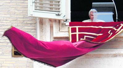 Heeft de kerk geen recht op een mea culpa van paus Benedictus XVI? epa