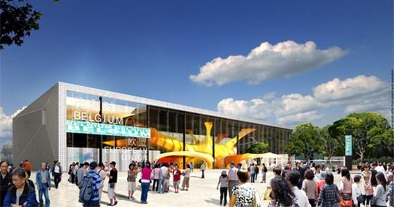 Belgisch-Europese paviljoen voor Sjanghai 2010 voorgesteld