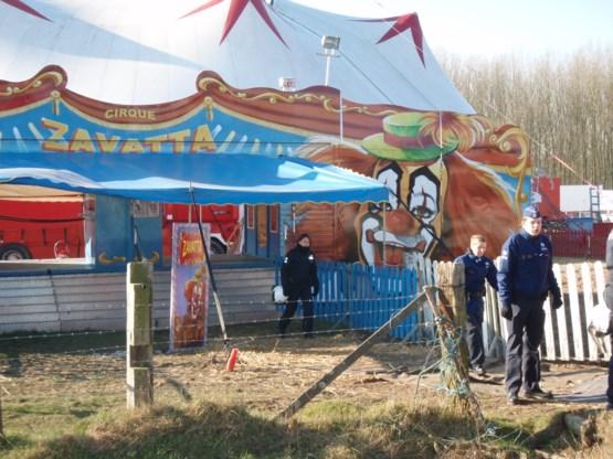 Politie valt binnen bij circus in Zottegem