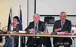 Roger Vandenmeersschaut is voorzitter van de gemeenteraad. pgg