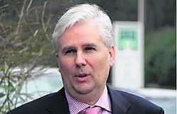 Gerechtsdeurwaarder Eric De Belder volgt Karel Byl op als voorzitter van Unizo Kempen.mph