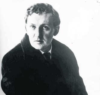 De jonge Hugo Claus. De schrijver is lid geweest van de NSJV. belga