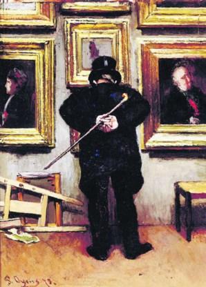 Pieter Oyens, 'De schilderijenliefhebber': het aroma van een voorbije tijd.rr