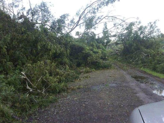 Cycloon Tomas laat spoor van vernieling na