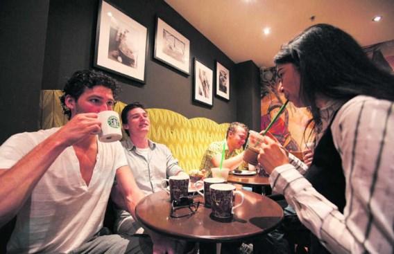 Starbucks: het community-gevoel is belangrijker dan de koffie.Gerard Til/hollandse hoogte
