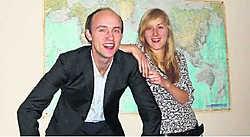 Bert en Naima maken kans op 25.000 euro als ze de eerste Battle of Talents winnen. Erwin Mynsberghe