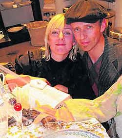 Günther Lesage en vriendin Karen brengen een ode aan de voeding.lvs