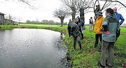 Natuurpunt Klein-Brabant bracht alle vlasrootputten in de streek in kaart. Op de foto de put aan de Pandgatheide in Oppuurs.Eddy Van Ranst