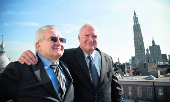 Marcel Van Bouwel (links) en Marc Stordiau (rechts): 'In deze markt heb je geen risicovrije projecten. Je doet er vijf en drie lukken er.' Dries Luyten
