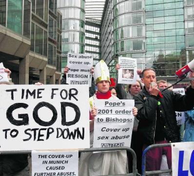 De schandalen worden ook gebruikt om een algemene afkeer van de Kerk te etaleren. ap