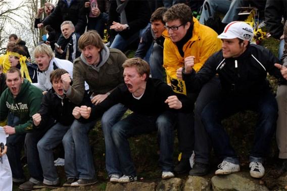 IN BEELD. De meest fanatieke supporters staan op de Muur