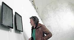 De levensgrote tekening in de kapel wordt aangevuld met digitale animaties. mvn