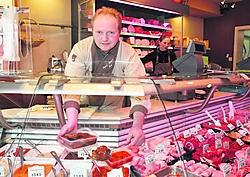 Henk De Vlieger, de initiatiefnemer van de 'Week van de Slager': 'Als slager kunnen wij de jongste jaren steeds meer onze creativiteit botvieren.'gia