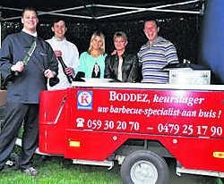 Joris Boddez brengt een gastronomische barbecueformule. vln