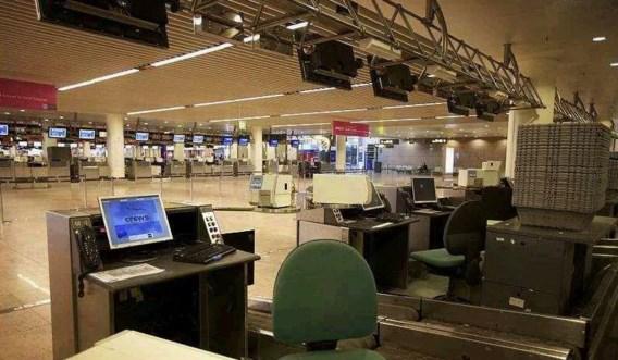 Belgisch luchtruim blijft nog zeker dicht tot maandag 8.00 uur