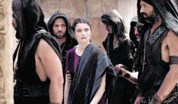 Rachel Weisz als Hypatia, een vrijgevochten intellectuele onder het christelijke schrikbewind. Teresa Isasi