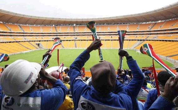 VRT zet geluidsdemper op vuvuzela's
