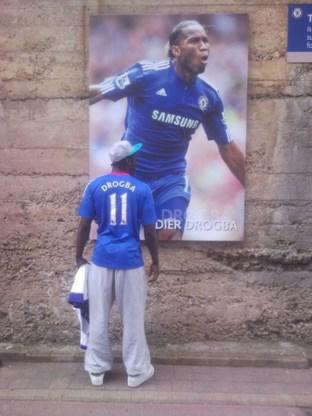 Lukaku bezoekt Chelsea