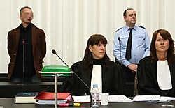 Beklaagde Christophe Rizzo blijft al vijf jaar ontkennen dat hij Sefrin vermoord heeft, ook al wijzen alle sporen in zijn richting. Frederiek Vande Velde