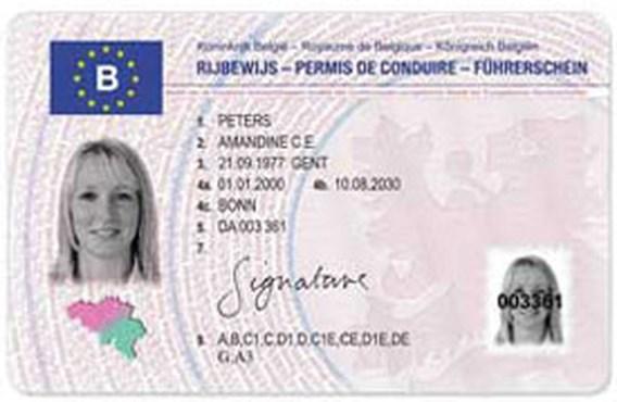 België haalt deadline Europees rijbewijs niet